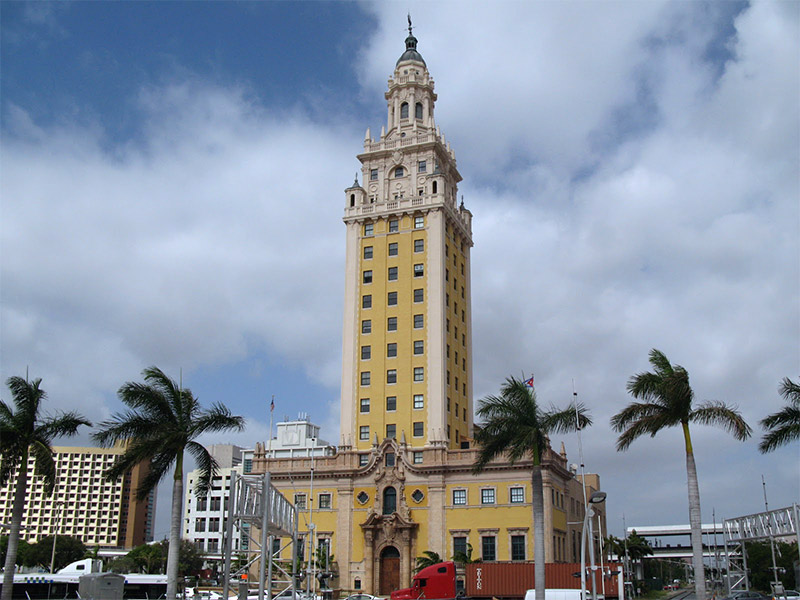 "The Freedom Tower in Miami, ""El Refugio"""