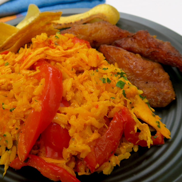 Arroz con pollo panama style rice chicken susos fork arroz con pollo panama style rice chicken simple food forumfinder Image collections