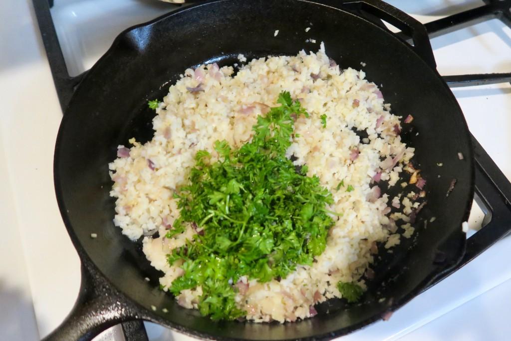 7. parsley_cauliflower_rice