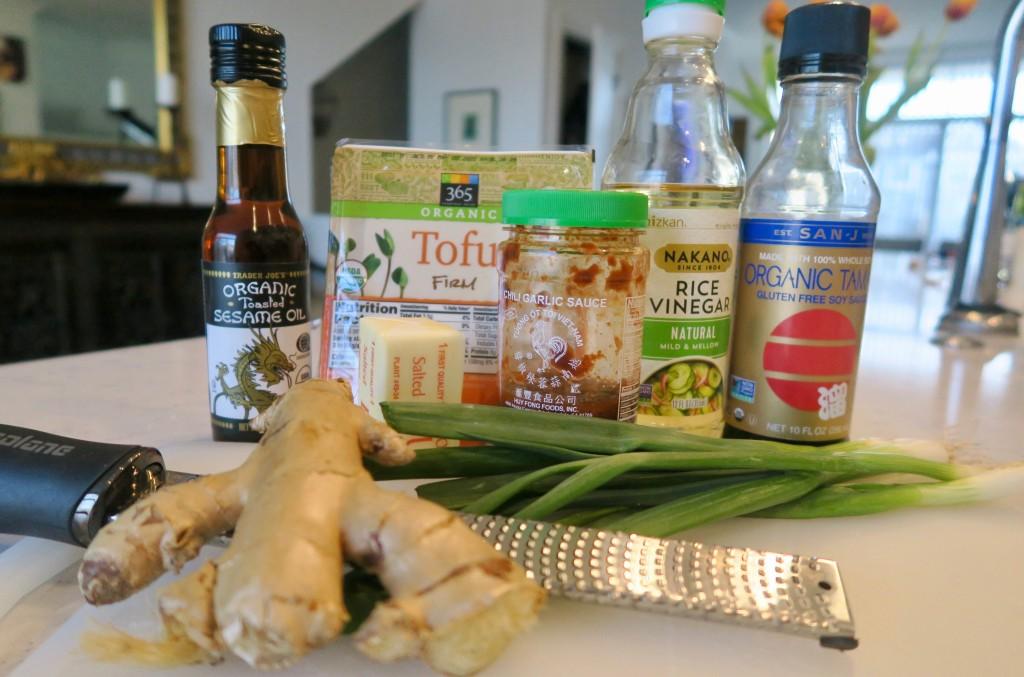 2. tofu_crispy_ingredients_ginger_sesame_oil_tamari_rice_vinegar