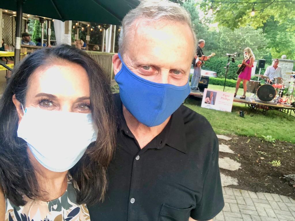 2. bob_sirott_marianne_murciano_wearing_masks_michigan_shores